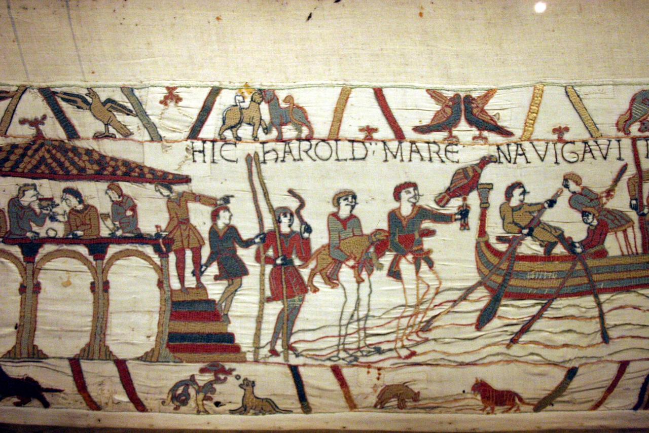 The Bayeux Tapestry And Its Many Magical Layers I 39 Ve Got